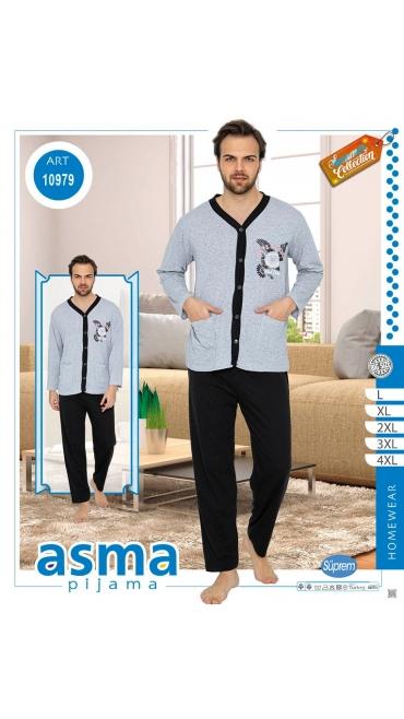 pijama dama barbati l-4xl 5/set
