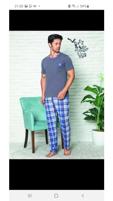 pijama barbati baki 100% bbc s-2xl 5/set