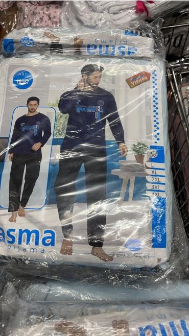 pijama barbati l-4xl 5/set