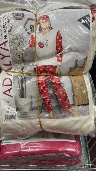 pijama dama cocolino m-2xl 4/set